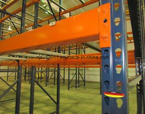Heavy Duty USA Q235B Steel Teardrop Warehouse Storage Pallet Rack pictures & photos