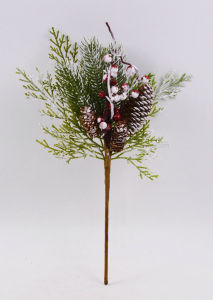 Artificial Vivid Christmas Flowers with Fruits for Holiday Decoration pictures & photos