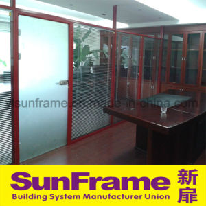 Aluminium Frame Partition Wall Not Reaching Ceiling pictures & photos