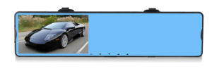 Two Camera Rearview Mirror Dual Cameras 1080P Car DVR pictures & photos