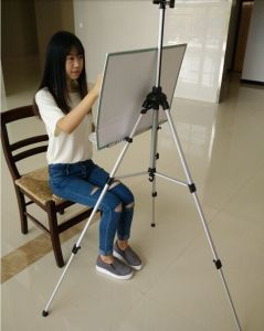 Hand-Cranking Telescopic Sketch Drawing Easel with Handle pictures & photos