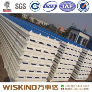 PU/EPS/Rockwool Sandwich Panel Insulation Panel for Steel Structure pictures & photos