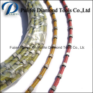Stone Cutting Wire Saw Diamond Wire Saw for Stone Slab Reinforce Concrete