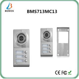 "Wired 7"" Touch Button Design Low Power Video Intercom Door Phone Doorbell pictures & photos"