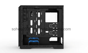 Black Full Tower Gaming Case with Transparent Window (M908) pictures & photos