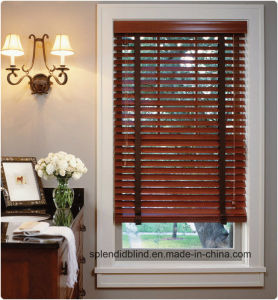 Fashion Unique Blinds Wooden Windows Blinds pictures & photos