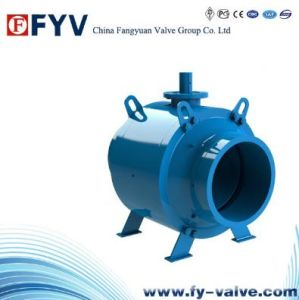 Gas Exhaust Underground Full Weld End Ball Valve pictures & photos