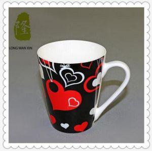 Custom Printed Cheap Large Ceramic Tea Cups pictures & photos