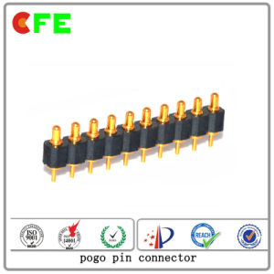 Customized 10pin Spring Loaded Electrical Contact Pins pictures & photos