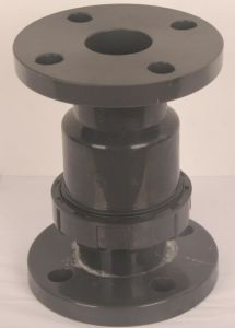 PVC Valve Falnged Check Valve for Water Treatment pictures & photos