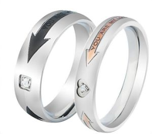 Couples Arrow Jewelry Stainless Steel Jewelry Set Ring for Lovers pictures & photos