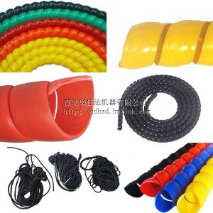 PE Soft Spiral Sleeve Extrusion Equipment pictures & photos