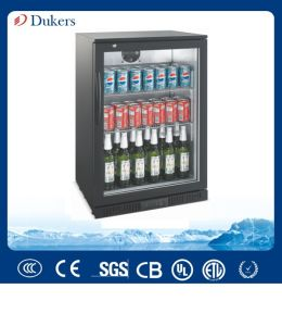 138L Single Door Back Bar Cooler, Beer Fridge with Stainless Steel Materials for Option