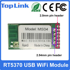 Top-Ms04 Ralink Rt5370 150Mbps USB WiFi Module with Ce FCC Support Wireless Soft Ap Mode pictures & photos