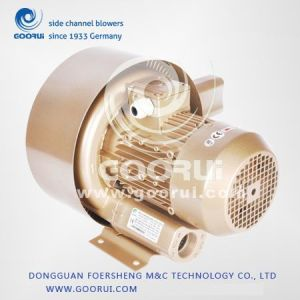 1.3kw/1.5kw 120m3/H 280mbar/Double Stage High Pressure Vacuum Blower pictures & photos