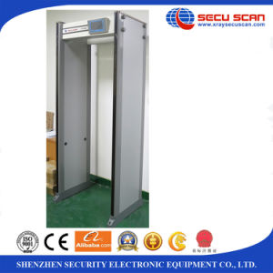 Have in stock walk through metal detector AT-300S 33 zones door frame metal detector door pictures & photos