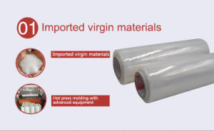 Transparent PE Packaging Stretch Wrap Film with Virgin Exxonmobil Material pictures & photos