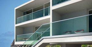 U Channel Aluminium Frameless Glass Railing for Deck/Balcony pictures & photos