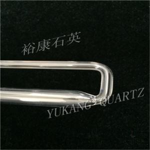 Customized Fused Clear U Shape Quartz Tube pictures & photos