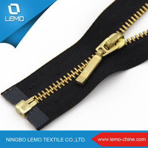 Metal Separating Gold Brass Zippers for Sale pictures & photos