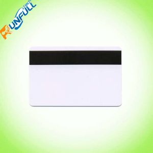 PVC Magnetic Stripe Card with Film Lamination on Both Sides pictures & photos