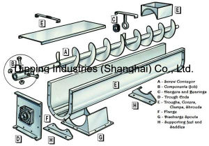 Screw Conveyor to Convey The Material to Calendaring Machine pictures & photos