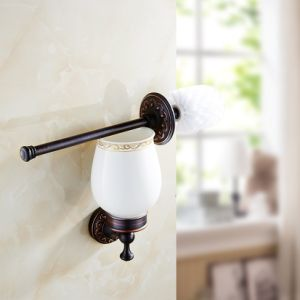 FLG Bath Toilet Brush Holder Wall Mounted Oil Rubbed Bronze pictures & photos