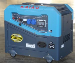 New Design Diesel Generator Set (KDE6500T) pictures & photos