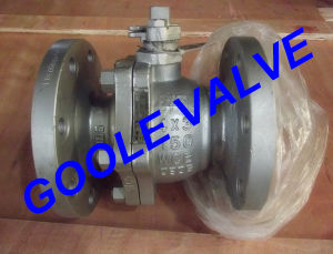 150LB Cast Steel Manual Standard Port Ball Valve (GAQ41F) pictures & photos
