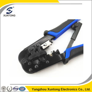 Network Connector RJ45 Rj11 Crimping Tool with Strip Hand Tool pictures & photos