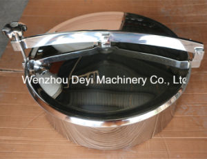 SS316 400mm Non Pressure Manhole Cover with Stainless Steel Handle pictures & photos