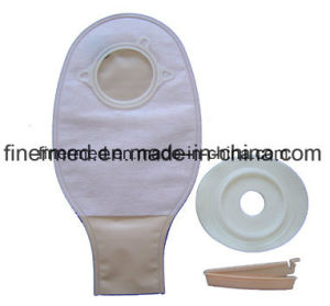 Reusable Two Parts Medical Colostomy Bag pictures & photos