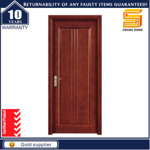 Red Oak Interior Engineer Wooden Door with High Quality PU Painting pictures & photos
