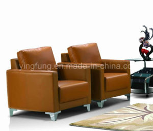 Comfortable Leather Office Sofa Set (SF-842) pictures & photos