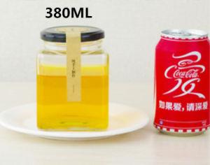380ml Honey Pickles Lead-Free Glass Bottle