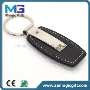 High Quality Customized Car Keychain Genuine Leather Keychain pictures & photos
