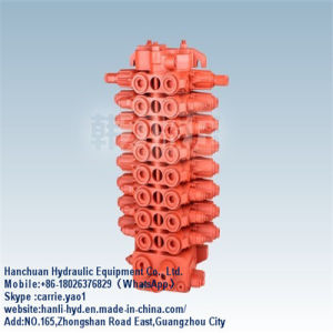 Kyb 4tons High Pressure Hydraulic Control Valve for Contruction Machinery