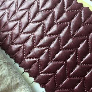 Rhombus Design PVC Leather for Villa Hotel Wall Decoration pictures & photos