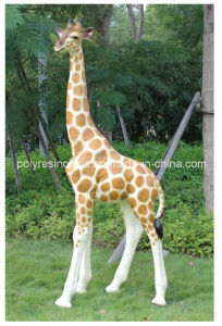 Fiber Glass Large Size Statue of Giraffe pictures & photos