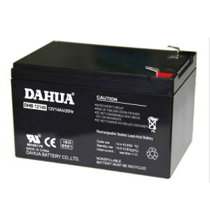 12V 14ah VRLA Sealed Lead Acid Maintenance Free UPS Battery pictures & photos