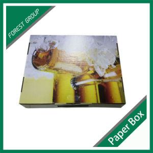 Fancy Custom Window Paper Wine Bag with Handle pictures & photos