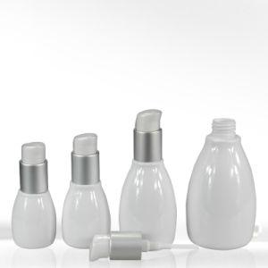 White Boston Round Cosmetic Lotion Bottle 80ml-200ml pictures & photos
