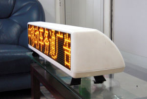 Double Sided P5mm Car Taxi Top LED Display Panel pictures & photos