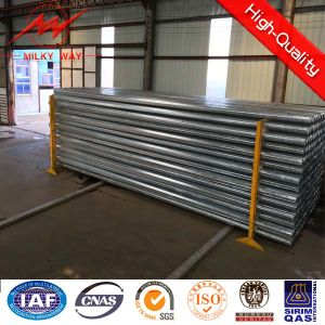 8m Electric Power Steel Utility Transmission Poles pictures & photos