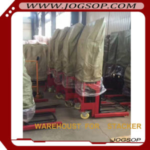 1 to 1.5t Manual Pallet Stacker with 1, 000kg Load Capacity and Easy Lifting pictures & photos