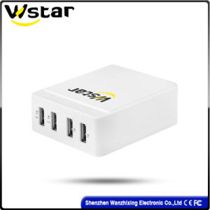 USB Charger with 4 USB Ports with Us Plug pictures & photos