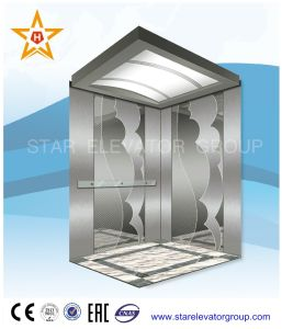 Passenger Lift Elevator with Mirror Etched Stainless Finish pictures & photos