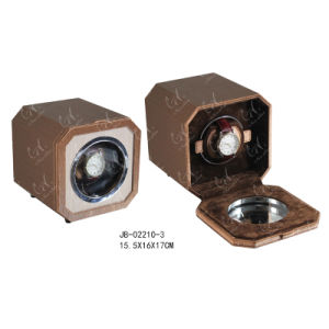 Professional Single Packing Wooden Watch Box Noble Rotating Watch Winder pictures & photos