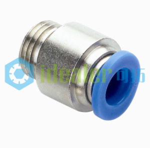 High Quality Pneumatic Fitting Brass Fittings with Ce (POC08-G04)