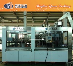 Automatic Washing Filling Capping Carbonated Drinks Filling Machine pictures & photos